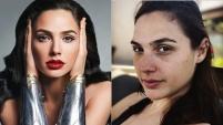 Makyaj güzeli yabancı ünlülerin makyajsız halleri