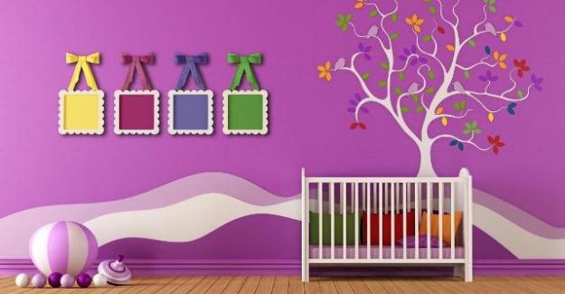 Çocuk Odası Dekorasyonu için Fikirler