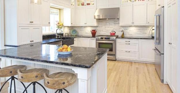 Mutfak Yer Döşemesi Dekorasyon Fikirleri