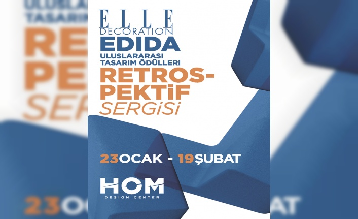 Son 10 Yılın En İyi Tasarımları EDIDA Retrospektif Sergisiyle HOM Design Center'da Sergileniyor!