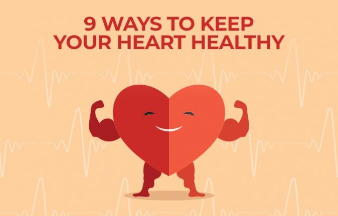 Kalbinizi Sağlıklı Tutmanın 9 Yolu