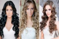 Açık Gelin Saç Modelleri