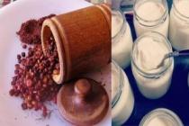 Zayıflatan sumaklı yoğurt kürü tarifi