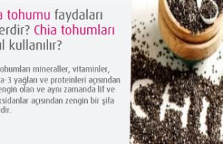 Chia tohumu faydaları Nelerdir? Chia tohumları nasıl...