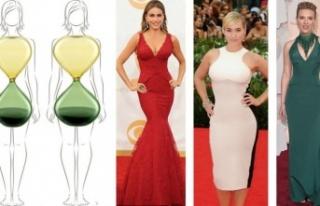Kum saati vücuda sahip olan kadınlar nasıl giyinmeli?