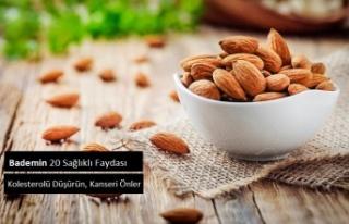 Bademin 20 Sağlıklı Faydası, Kolesterolü Düşürün,...