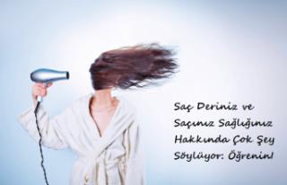 Saç Deriniz ve Saçınız Sağlığınız Hakkında...
