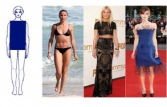 Düz (Dikdörtgen) vücuda sahip olan kadınlar nasıl giyinmeli?