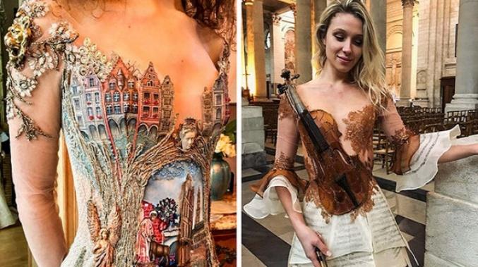 Bu Fransız Tasarımcısı Bu Dünyanın Dışında Olan Elbiseler Yaratıyor