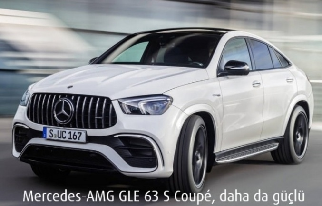 Mercedes-AMG GLE 63 S Coupé, daha da güçlü