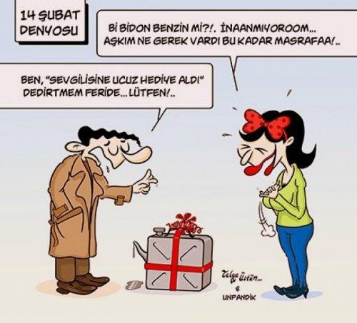 14 şubat sevgililer günü karikatürleri 2